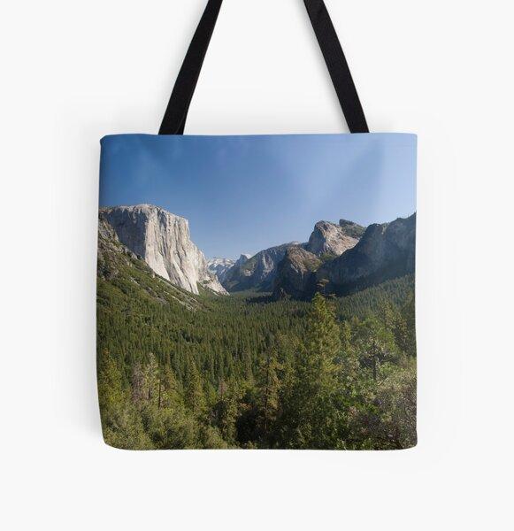 Yosemite Day All Over Print Tote Bag