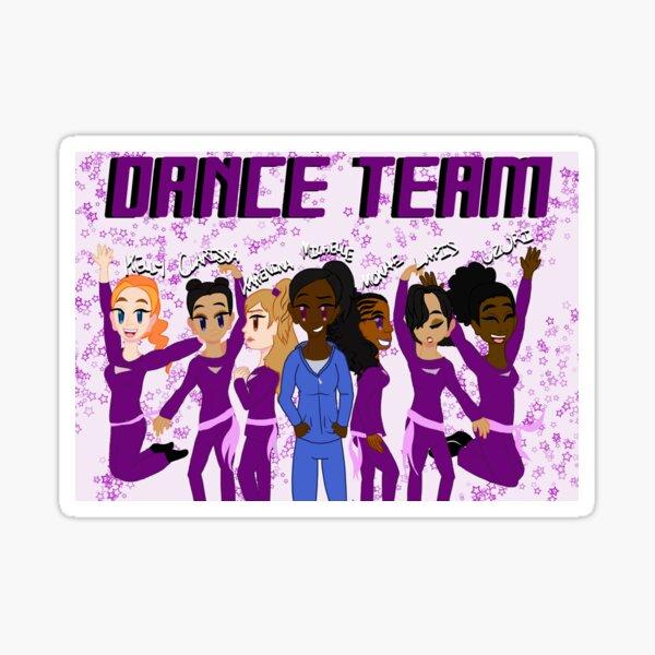 Dance Team - Grunge Sticker