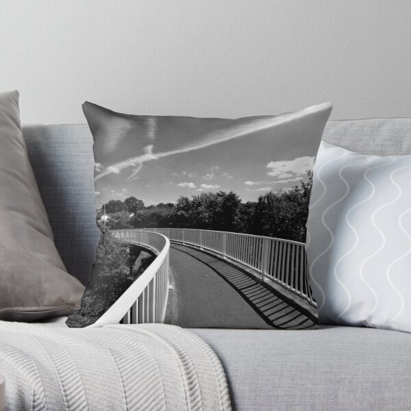 Bridge over A12 Throw Pillow