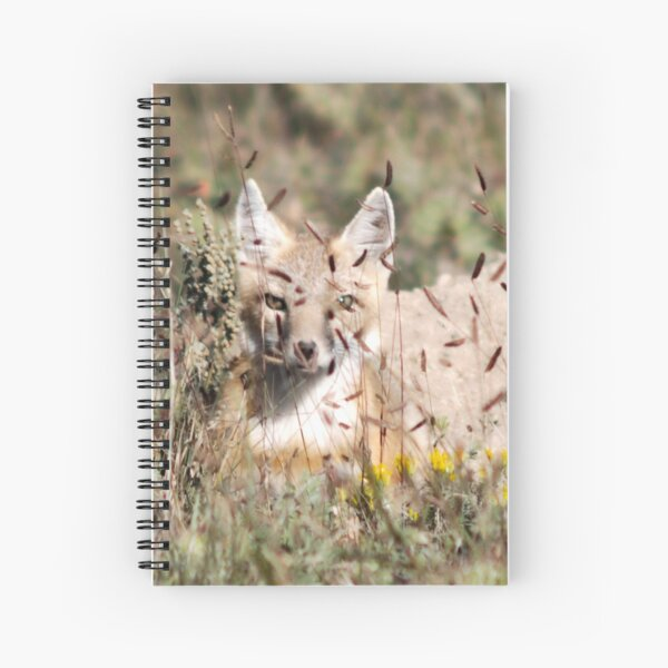 Swift Fox, Colorado Spiral Notebook
