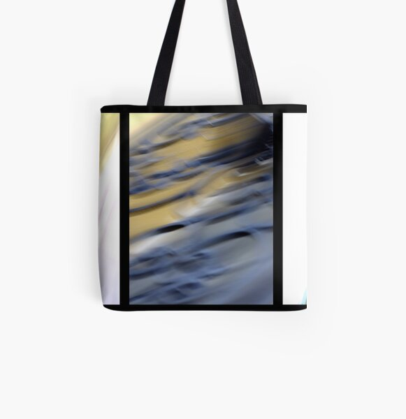abstract trittico 2 All Over Print Tote Bag