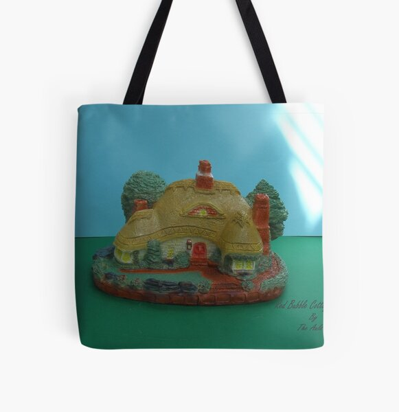 Red Bubble Cottage All Over Print Tote Bag