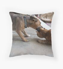 Bath time!!!! Throw Pillow