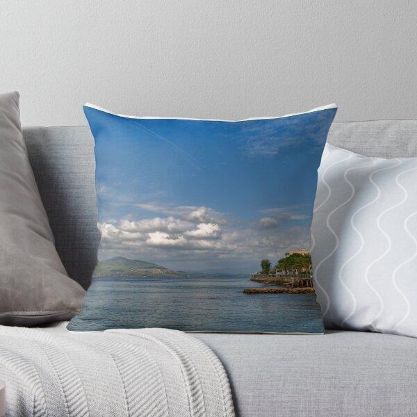 Greek Landscape 003 Throw Pillow