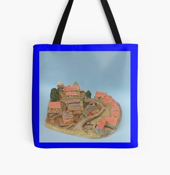 Dean village Edinburgh All Over Print Tote Bag