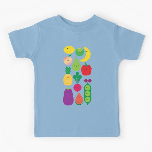 5 A Day Fruit & Vegetables Kids T-Shirt