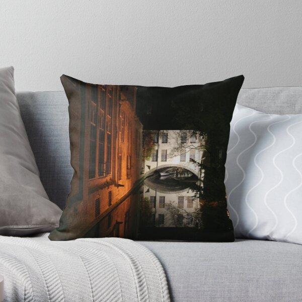 Brugge (Belgium) Throw Pillow