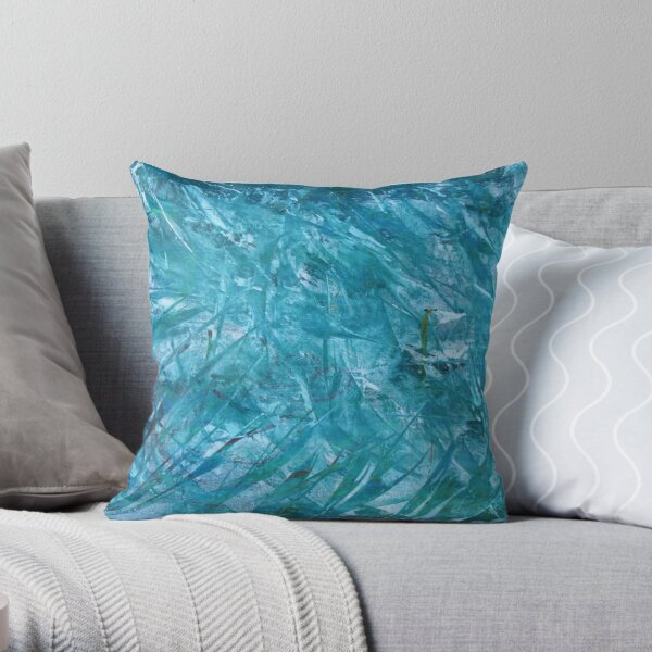 At Sea by Josh Throw Pillow
