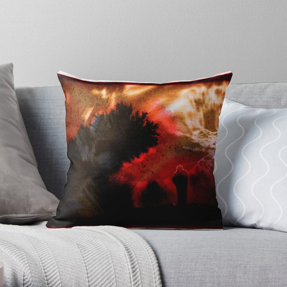 Y E S Throw Pillow