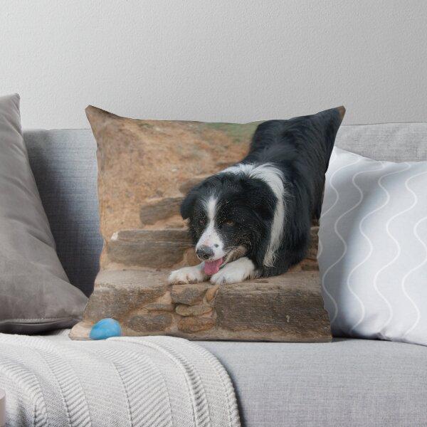 Catch It Mum! Throw Pillow