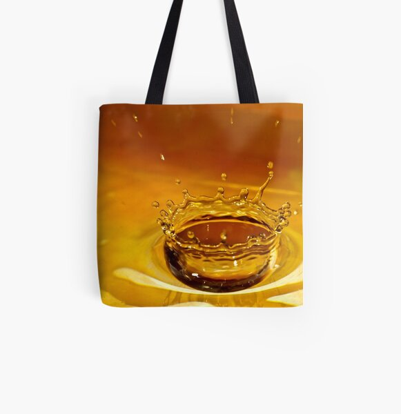 Water Crown All Over Print Tote Bag