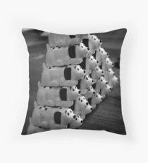 Dalmatian Display Throw Pillow
