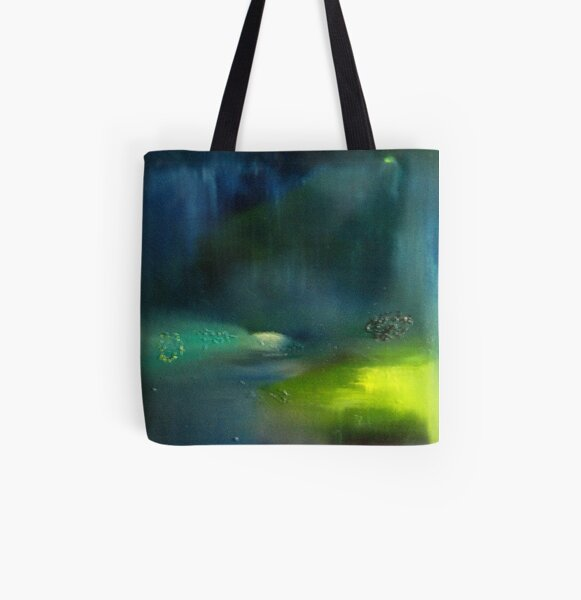 "Lost Islands in Paradise ""Maldives"" All Over Print Tote Bag"