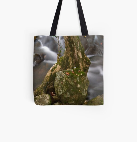 Up the Creek All Over Print Tote Bag