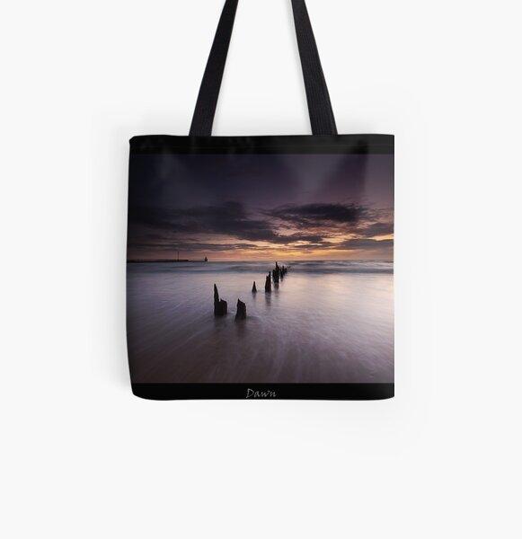 Dawn All Over Print Tote Bag