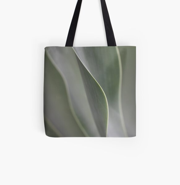 green lines All Over Print Tote Bag