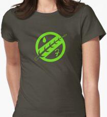 Minimal Fett Logo Women's Fitted T-Shirt