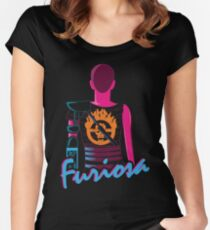 Drive Furiously Women's Fitted Scoop T-Shirt
