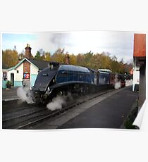 Steam at Grosmont  - North Yorks. Poster