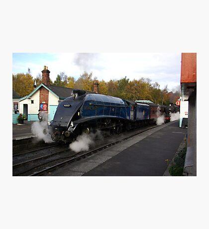 Steam at Grosmont  - North Yorks. Photographic Print