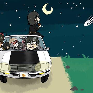 Shinsengumi  by ArtisticTsuki
