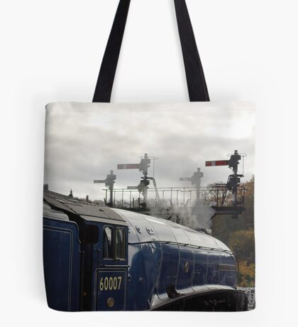 Waiting for the Off. Tote Bag