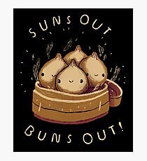suns out buns out! Photographic Print