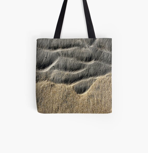 Two Sands All Over Print Tote Bag