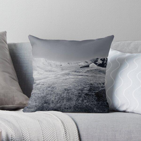 Swiss Barn Throw Pillow