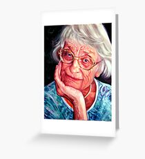 Jean Greeting Card