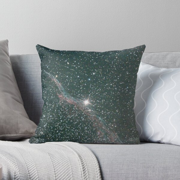 witches broom nebula NGC6960 Throw Pillow