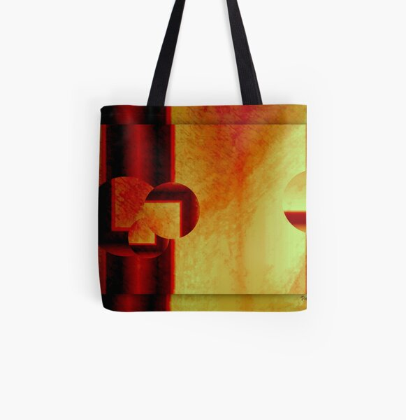 Decadent geometry All Over Print Tote Bag
