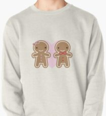 Cookie Cute Gingerbread Couple Pullover