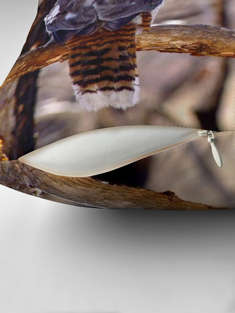 Alternate view of Kookaburra Dawn Throw Pillow