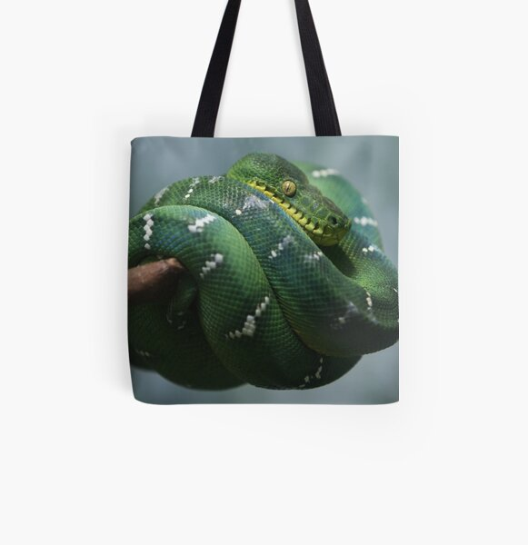 Sleeping Grin All Over Print Tote Bag