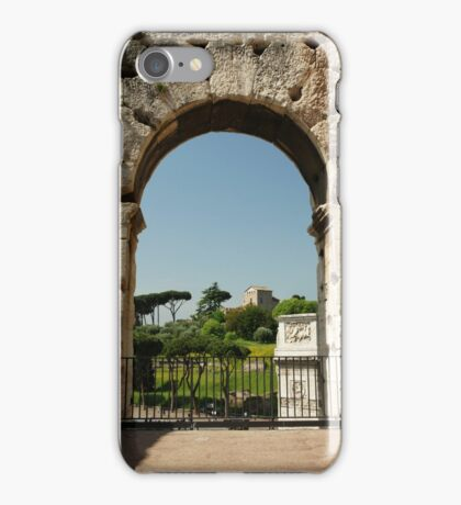 Colosseo View iPhone Case/Skin