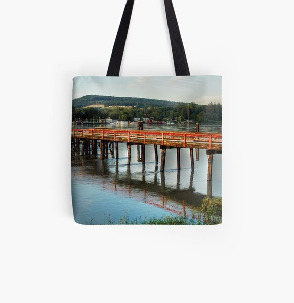 The Deck All Over Print Tote Bag
