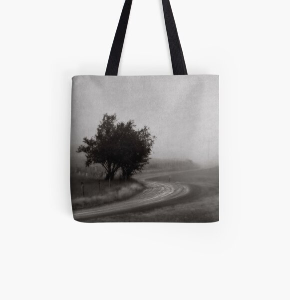Lost Road All Over Print Tote Bag