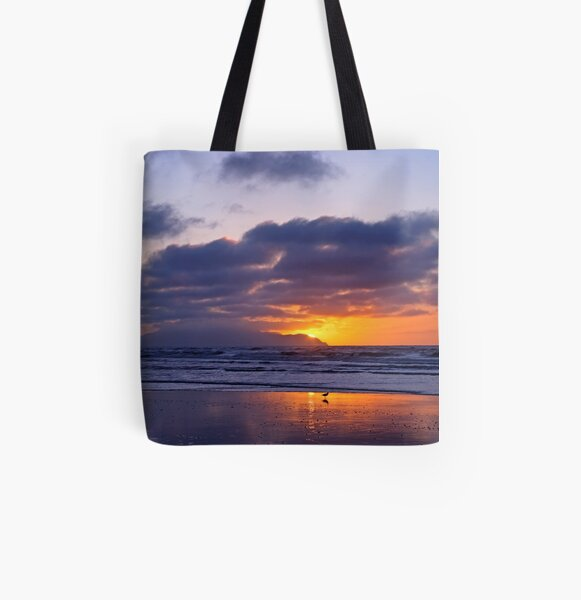 Rage Rage Against the Dying of the Light All Over Print Tote Bag