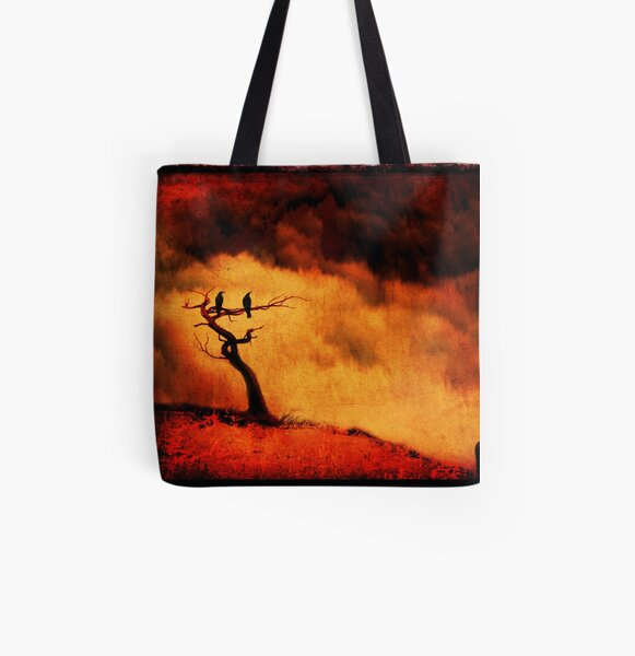 Raven Tree All Over Print Tote Bag