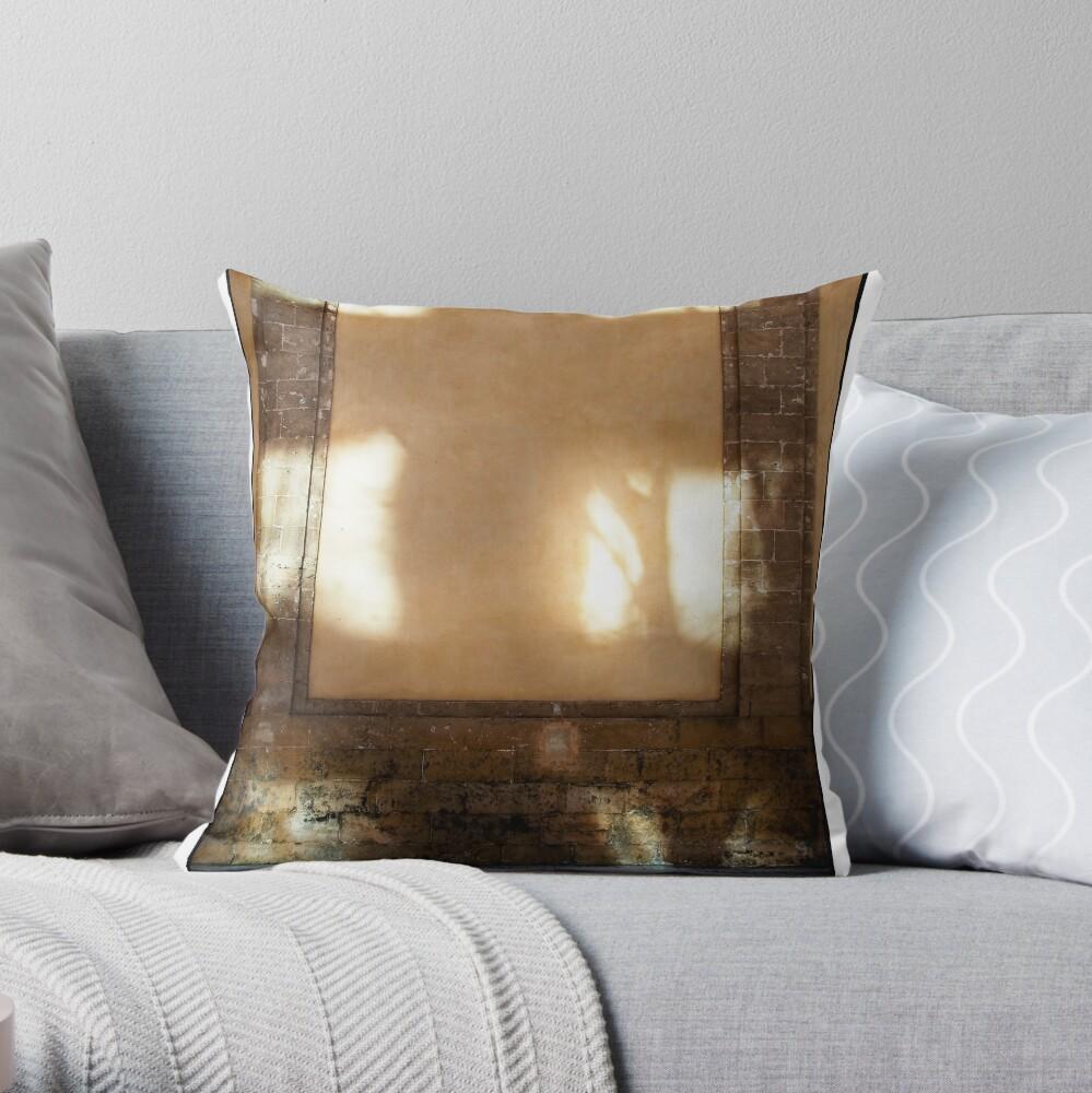 The Natural Cross of Palma  Throw Pillow