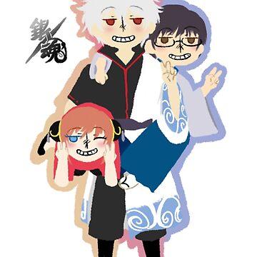 The trio by ArtisticTsuki