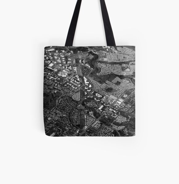 Suburbia All Over Print Tote Bag