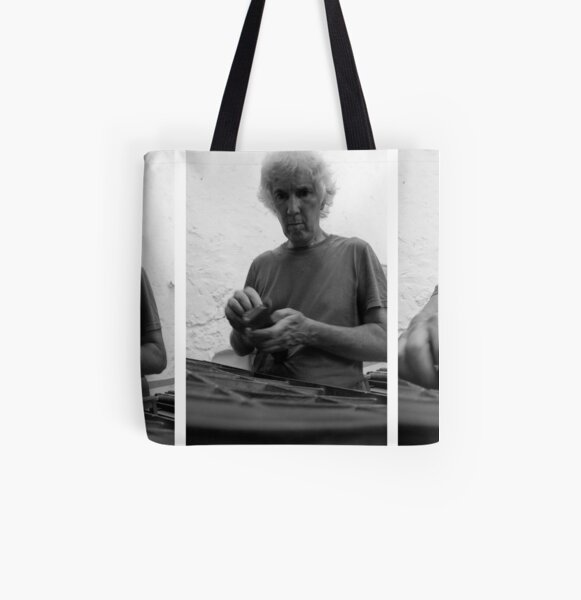 Tómas Typesets  All Over Print Tote Bag