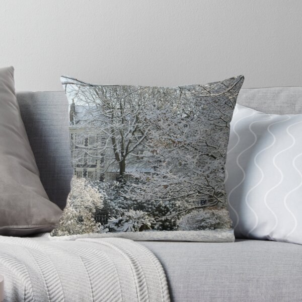The icing on the Steine Throw Pillow