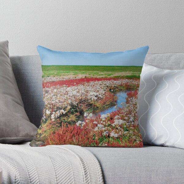 Wetlands 4 Throw Pillow