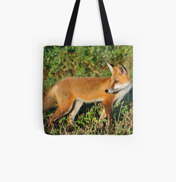 Red Beauty All Over Print Tote Bag