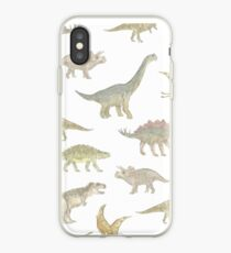 Dinosaurier-Muster iPhone-Hülle & Cover