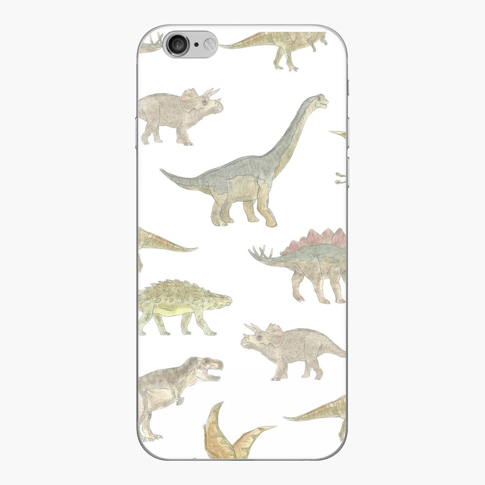 Dinosaur Pattern iPhone Skin