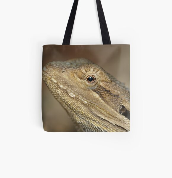 Eastern Bearded Dragon All Over Print Tote Bag